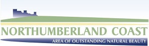 Northumberland Coast Area of Outstanding Natural Beauty Logo