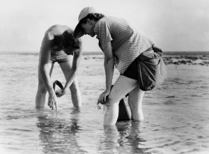 Rachel Carson with nature artist Bob Hines, US Fish and Wildlife Service, 1952.